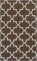 Surya York Reagan Brown/White Area Rug