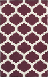 Surya York Harlow Purple/White Area Rug
