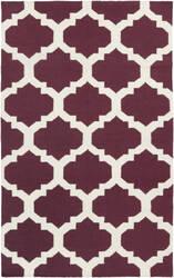 Surya York Harlow Purple/White Area Rug