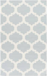 Surya York Harlow Light Blue/White Area Rug