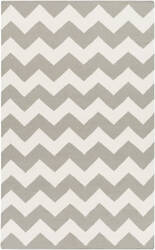 Surya York Pheobe Grey/White Area Rug