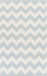 Surya York Pheobe Light Blue/White Area Rug