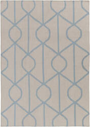 Surya York Ellie Ivory - Light Blue Area Rug