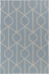 Surya York Ellie Light Blue - Ivory Area Rug