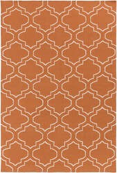 Surya York Sara Orange - Ivory Area Rug