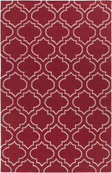 Surya York Sara Red - Ivory Area Rug