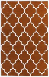 Surya Transit Piper Orange/White Area Rug