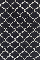 Surya Holden Finley Charcoal - Ivory Area Rug