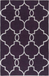 Surya Holden Mattie Purple - Ivory Area Rug