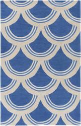 Surya Holden Sienna Blue - Ivory Area Rug
