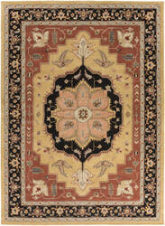 Surya Middleton Mia Maroon/Black Area Rug