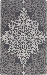 Surya Hermitage Faith Grey - Beige Area Rug