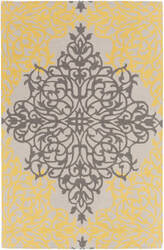 Surya Hermitage Faith Gold - Beige Area Rug