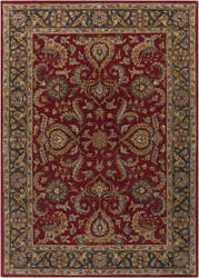 Surya Middleton Georgia Red - Charcoal Area Rug