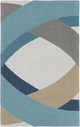 Surya Impression Elsa Blue Multi Area Rug
