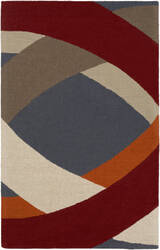 Surya Impression Elsa Red Multi Area Rug