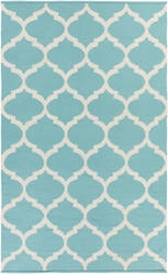 Surya Vogue Everly Teal/White Area Rug
