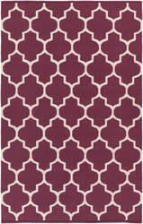 Surya Vogue Claire Maroon/White Area Rug