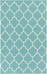 Surya Vogue Claire Teal/White Area Rug