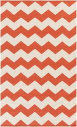 Surya Vogue Collins Coral/White Area Rug