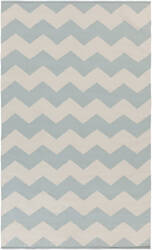 Surya Vogue Collins Light Blue/White Area Rug