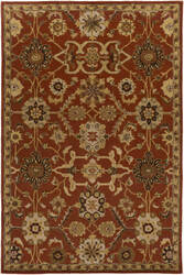 Surya Middleton Jenna Rust Multi Area Rug