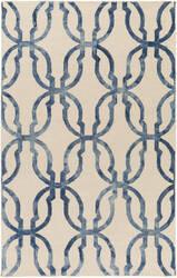 Surya Organic Julia Slate Blue - Ivory Area Rug