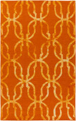 Surya Organic Julia Orange - Gold Area Rug