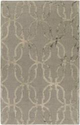 Surya Organic Julia Slate Grey - Beige Area Rug