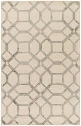 Surya Organic Brittany Ivory - Grey Area Rug