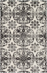 Surya Organic Danielle Charcoal - Off-White Area Rug