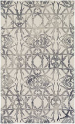 Surya Organic Avery Ash Grey - Off-White Area Rug