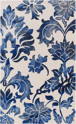 Surya Organic Chloe Navy - Off-White Area Rug