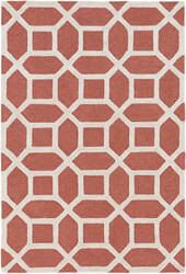 Surya Arise Evie Coral - Ivory Area Rug