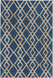 Surya Silk Valley Lila Blue - Beige Area Rug