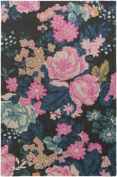 Surya Botany Eli Multi-Colored Pink Area Rug