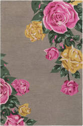 Surya Botany Cora Multi-Colored Taupe Area Rug
