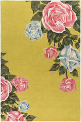 Surya Botany Cora Yellow Area Rug