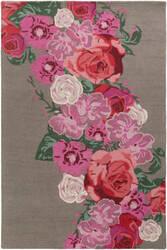Surya Botany Emilia Bot2487 Multi-Colored Pink Area Rug