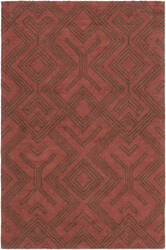 Surya Congo Hill Red - Chocolate Area Rug