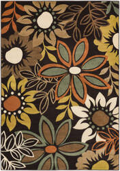 Surya Crete Astrid Multi-Colored - Brown Area Rug