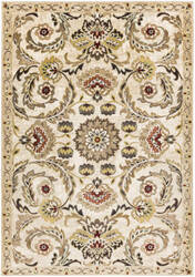 Surya Crete Rowan Multi-Colored - White Area Rug