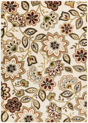 Surya Crete Amara Multi-Colored - White Area Rug