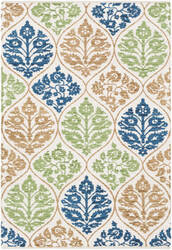 Surya Elaine Luke Eli3084 Multi-Colored Area Rug