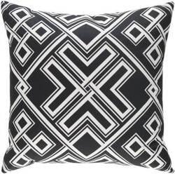 Surya Ethiopia Pillow Togo Etpa7228 Onyx Black