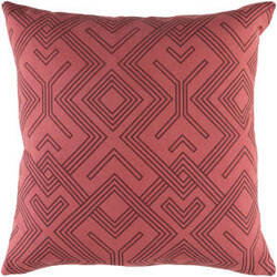 Surya Ethiopia Pillow Sudan Etpa7233 Terra Cotta
