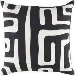 Surya Ethiopia Pillow Morocco Etpa7240 Onyx Black