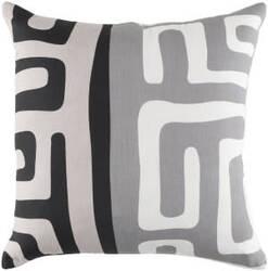 Surya Ethiopia Pillow Morocco Etpa7242 Light Gray