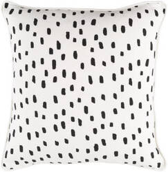 Surya Glyph Pillow Dalmatian Dot White - Black