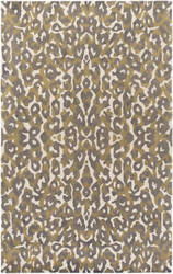 Surya Geology Addison Gray - Yellow Area Rug